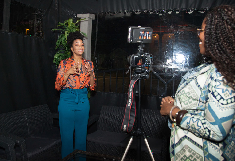 In my zone Interviewing a member! photocred: http://www.sherettadanielle.com