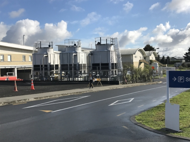 Waitakere Hospital water infrastructure
