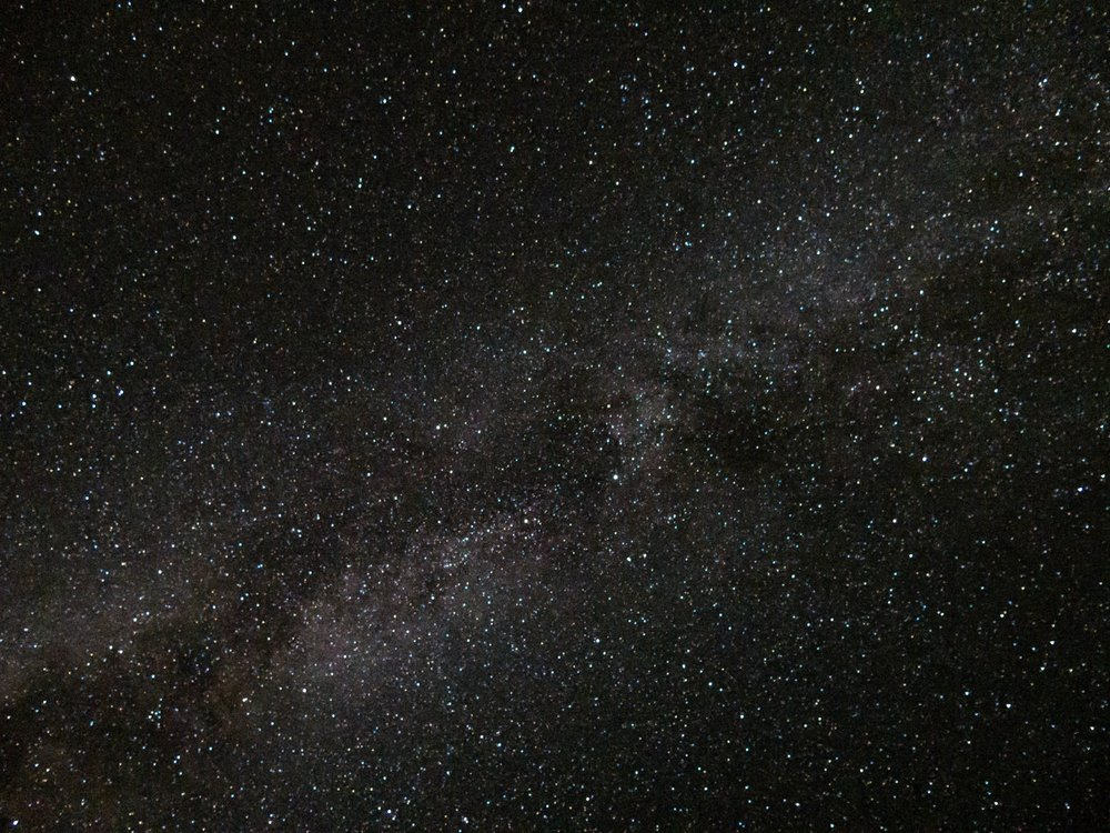 The sky on a moonless night above Roatan makes for the best conditions to experience night diving and bioluminescence.