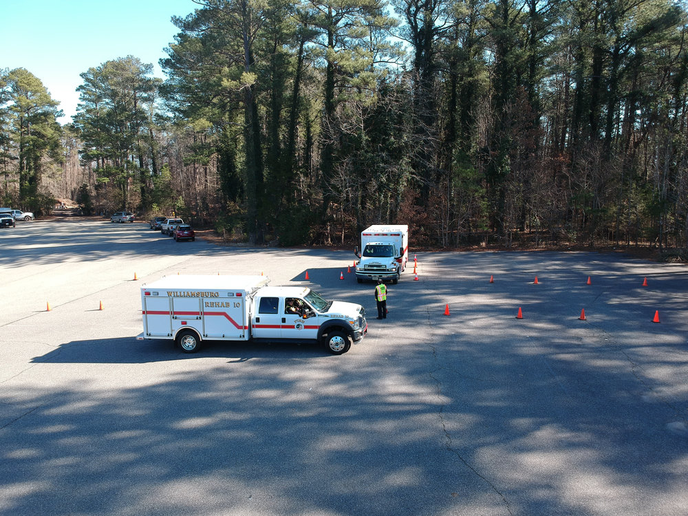 Our Rehab 10 and Medic 10 apparatuses were used for the final driving test as pictured above.
