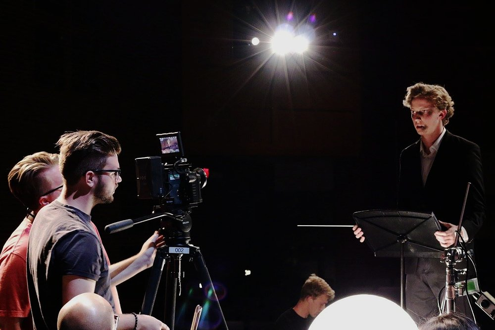 """CINEMATOGRAPHER ON AN UPCOMING SHORT FILM TITLED """"TWO NOTES""""."""
