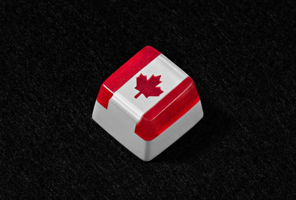 Canada Flag keycap