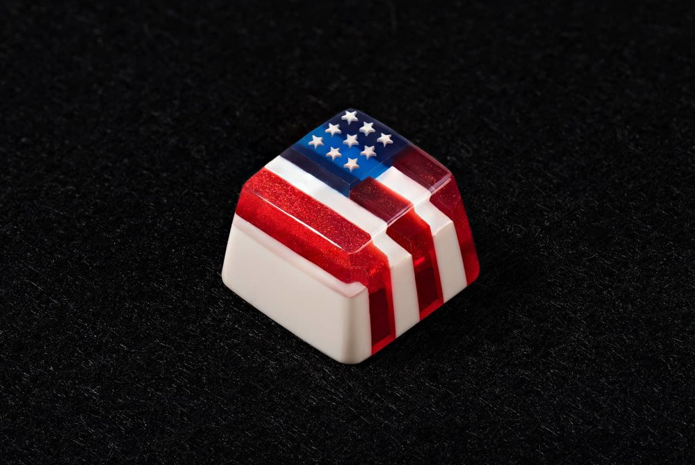USA Flag keycap