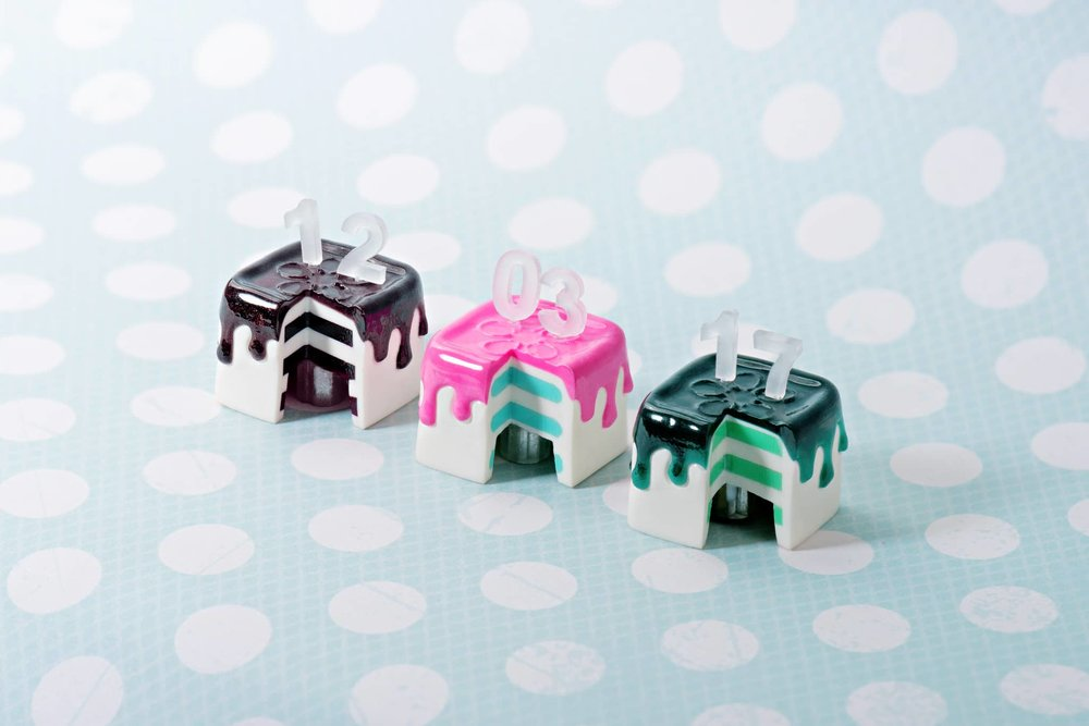 Jelly Key - Jelly Cake artisan keycap