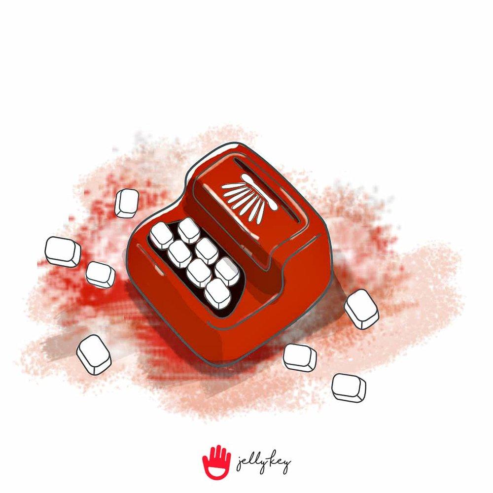 jellykey-typewriter-artisan-keycap-sketch-digital-painting-2.jpg