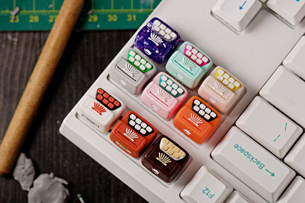 Jelly Key - Artisan keycap typewriter cherry mx 033.jpg