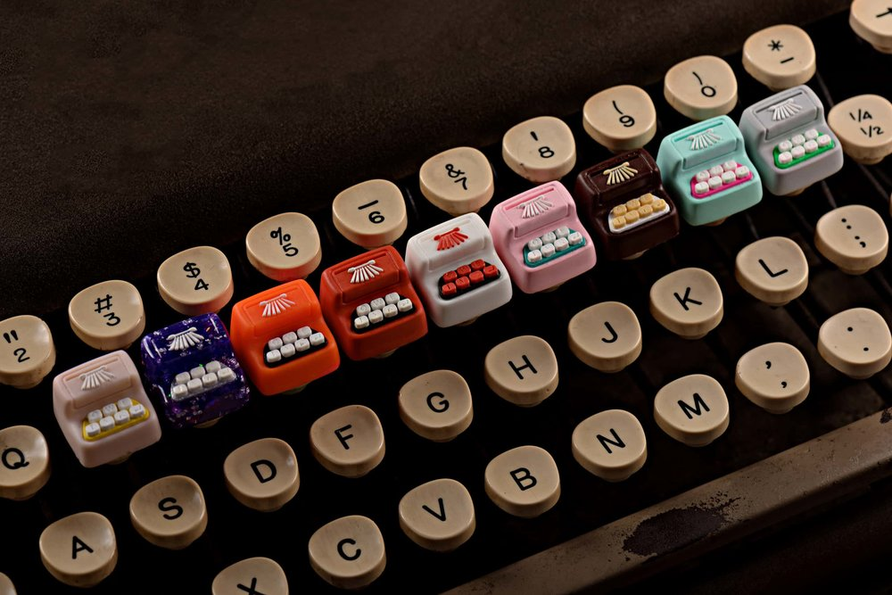 Jelly Key - Artisan keycap typewriter cherry mx 026.jpg