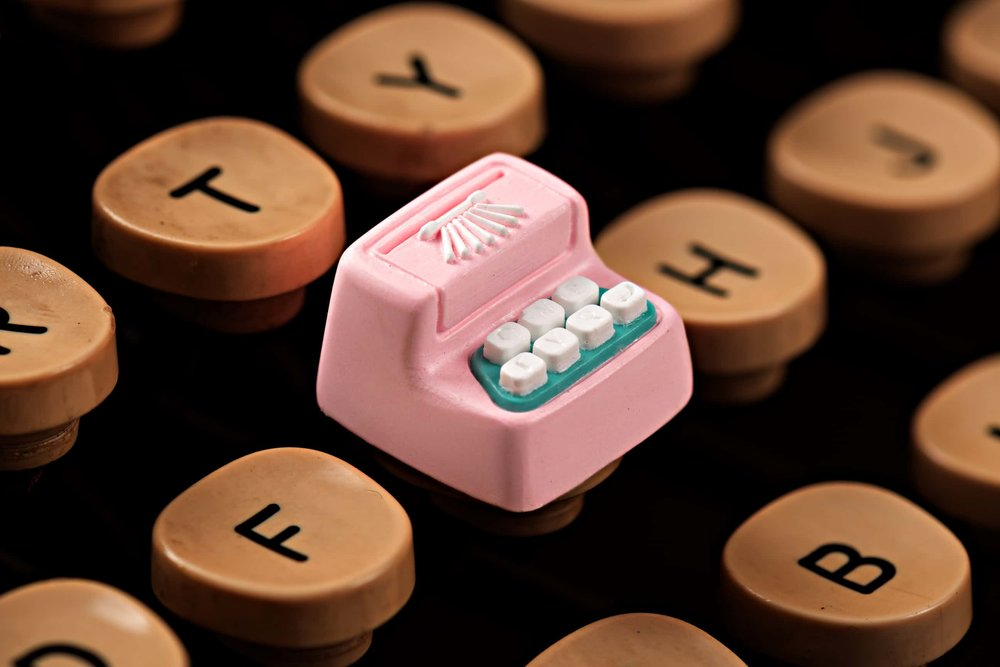 Jelly Key - Artisan keycap typewriter cherry mx 013.jpg