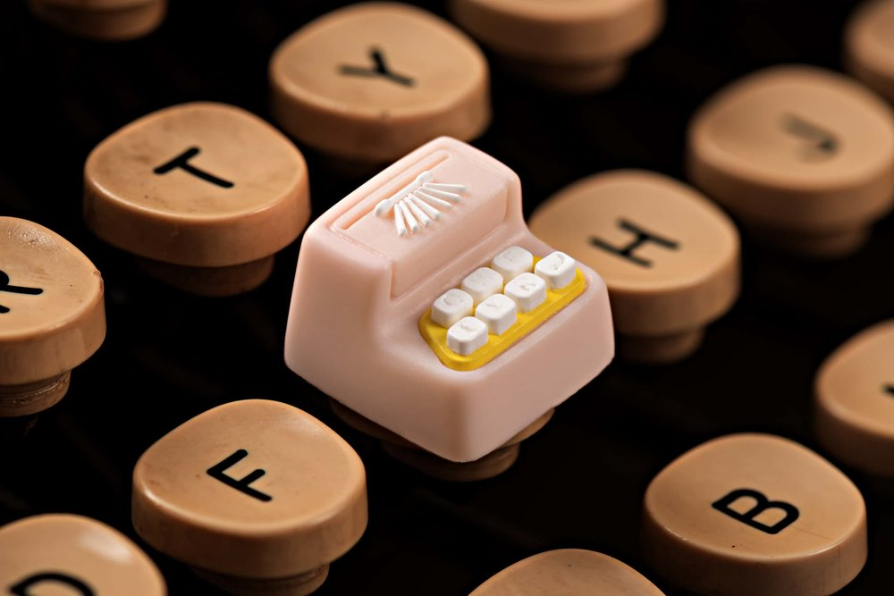 Jelly Key - Artisan keycap typewriter cherry mx 009.jpg