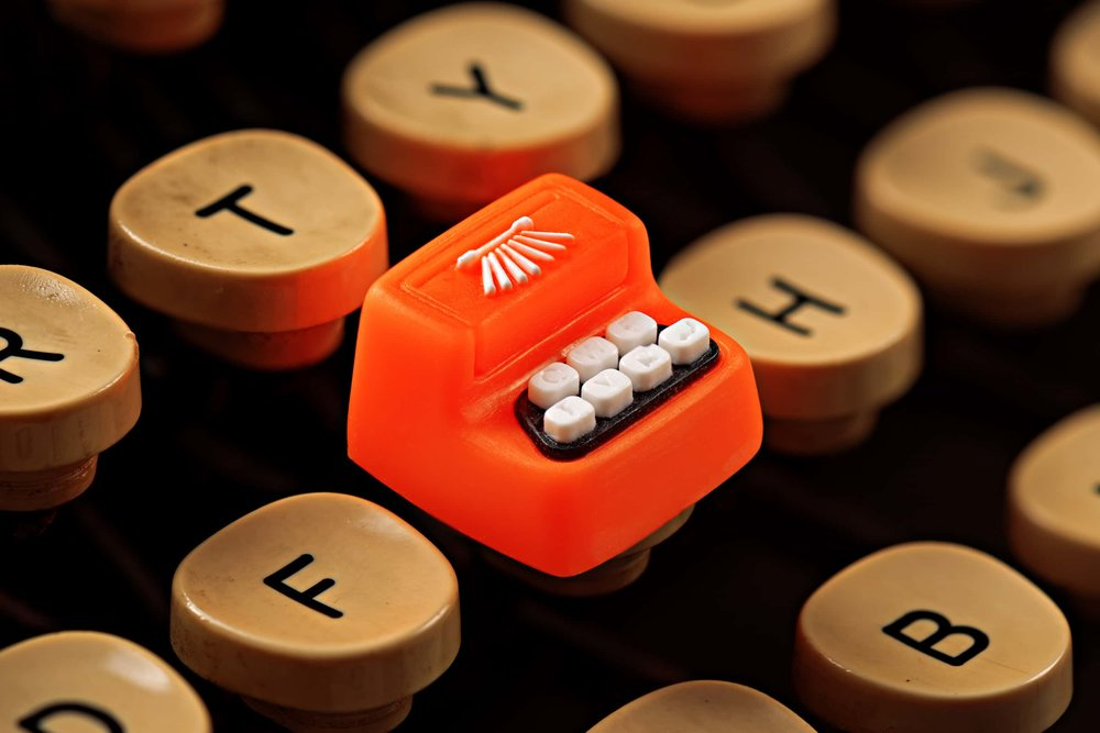 Jelly Key - Artisan keycap typewriter cherry mx 003.jpg
