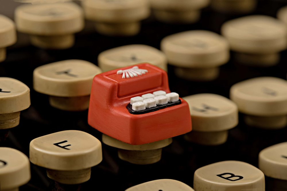 Jelly Key - Artisan keycap typewriter cherry mx 021.jpg