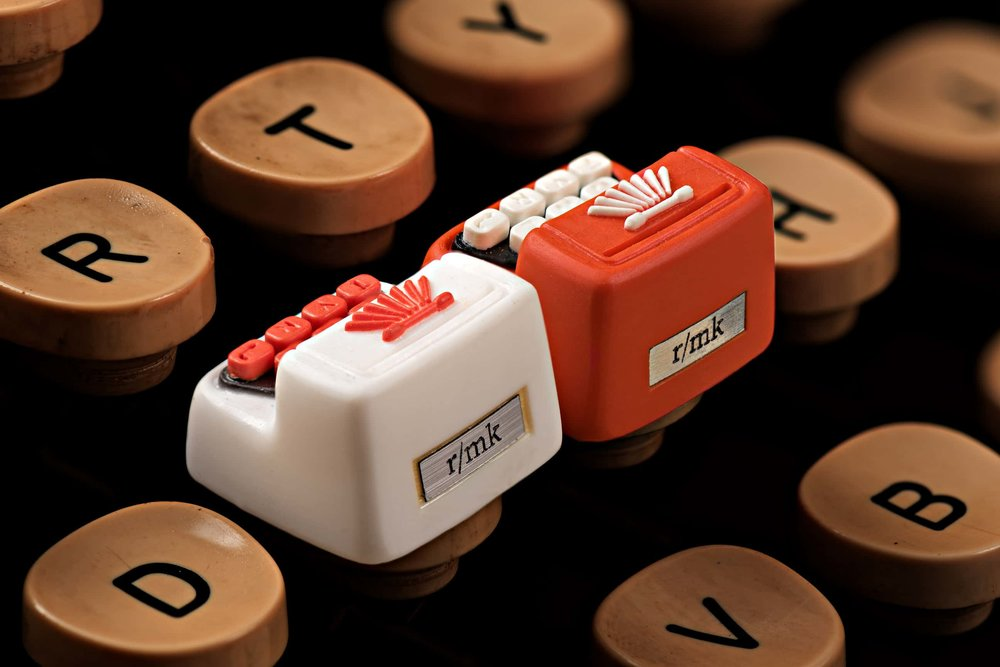 Jelly Key - Artisan keycap typewriter cherry mx 020.jpg