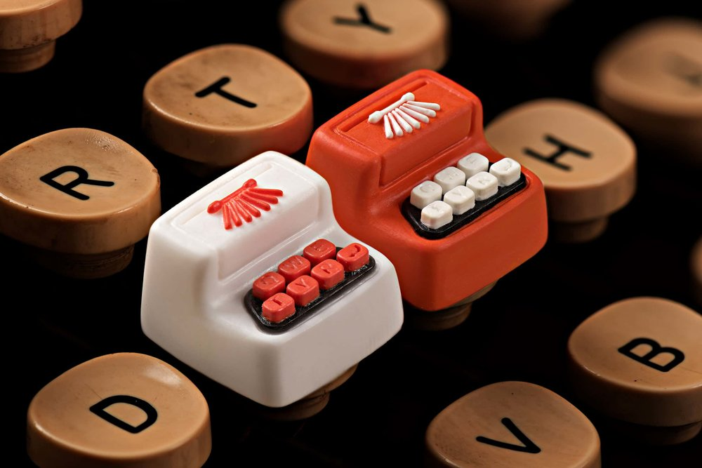 Jelly Key - Artisan keycap typewriter cherry mx 019.jpg