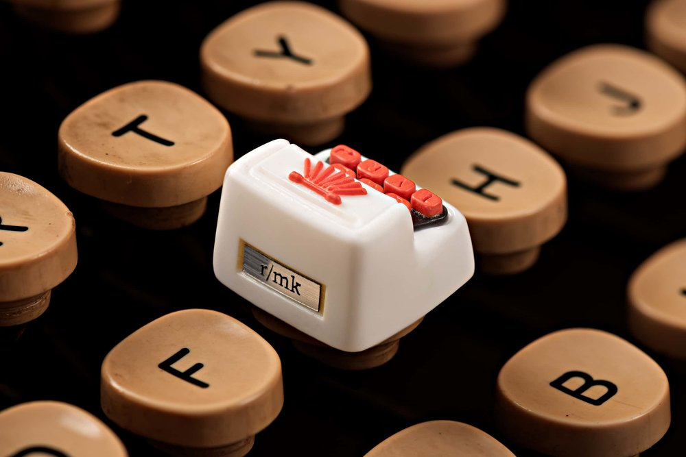 Jelly Key - Artisan keycap typewriter cherry mx 012.jpg