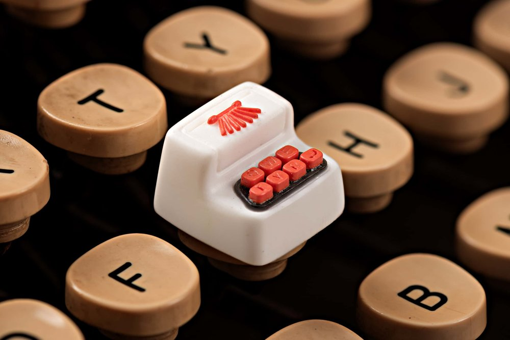 Jelly Key - Artisan keycap typewriter cherry mx 011.jpg