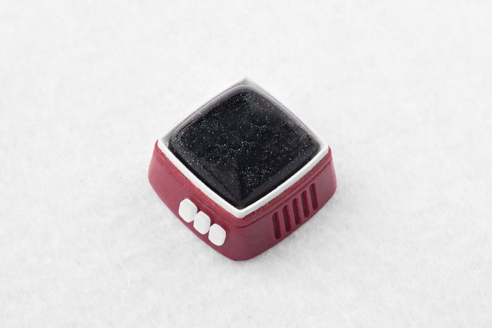 Jelly Key - RetroTV series – Fly to the moon artisan keycap 021.jpg