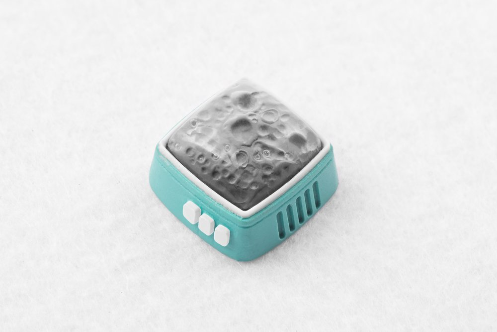 Jelly Key - RetroTV series – Fly to the moon artisan keycap 024.jpg