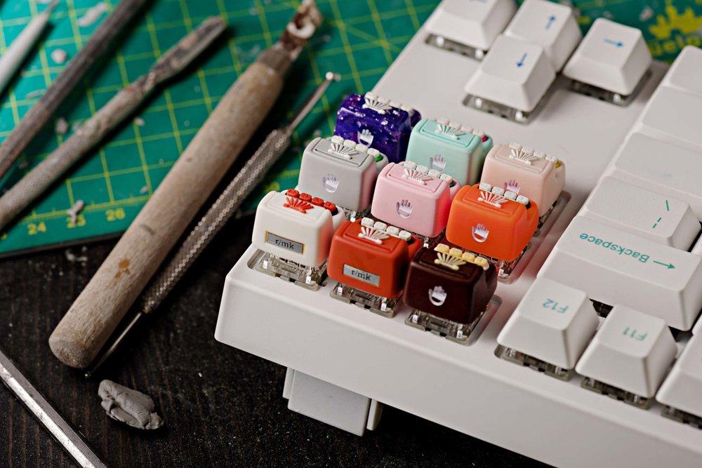 Jelly Key - Artisan keycap typewriter cherry mx 031.jpg