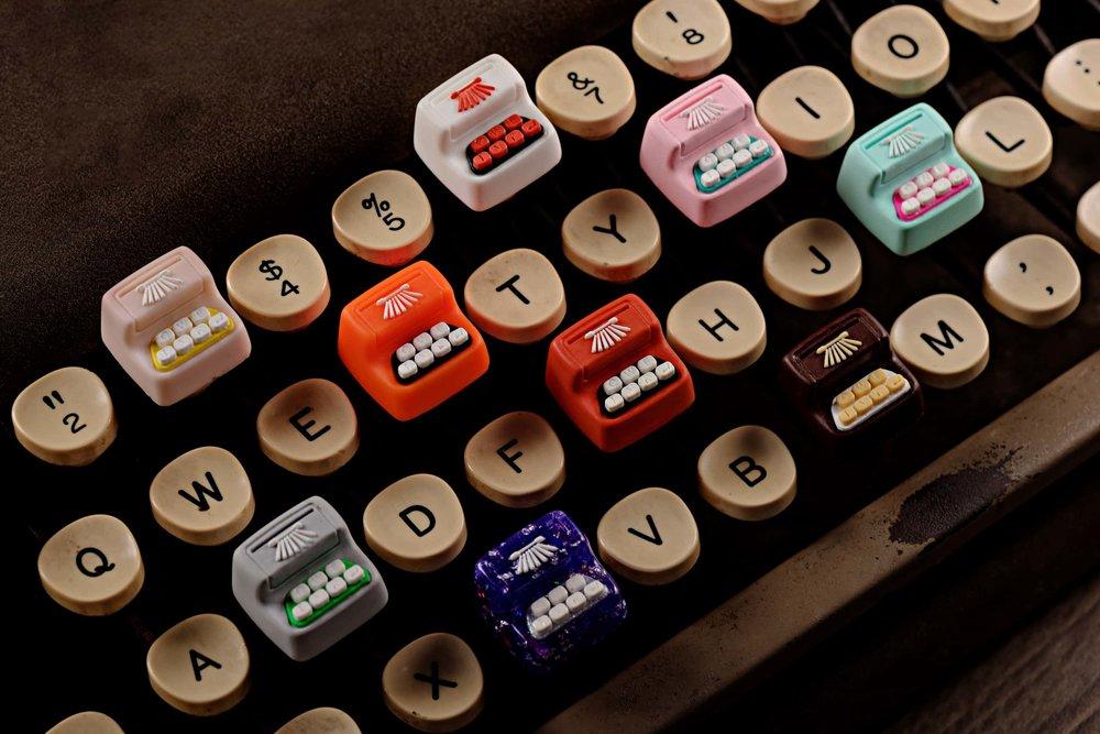 Jelly Key - Artisan keycap typewriter cherry mx 027.jpg