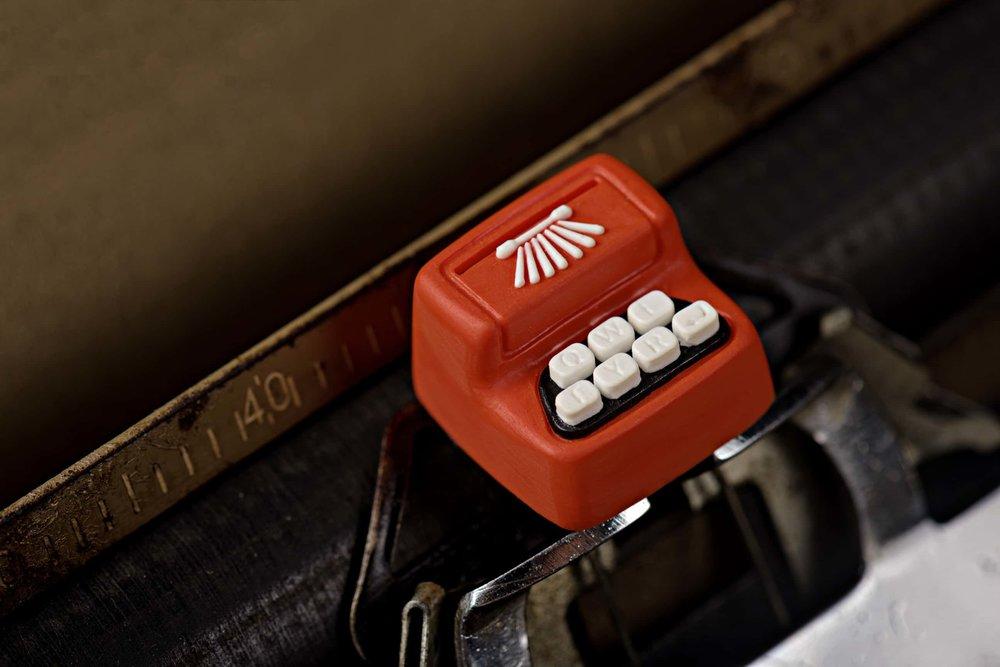 Jelly Key - Artisan keycap typewriter cherry mx 023.jpg