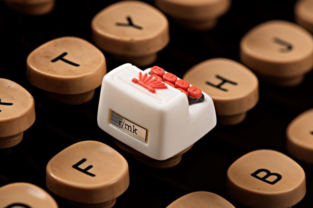 Jelly Key - Artisan keycap typewriter cherry mx 012.jpg