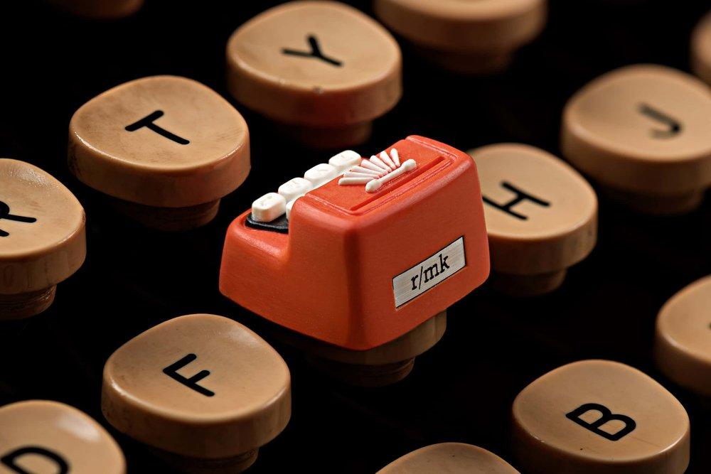 Jelly Key - Artisan keycap typewriter cherry mx 002.jpg