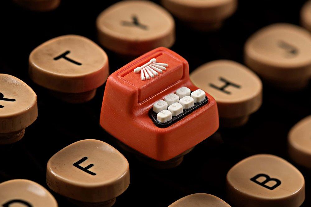 Jelly Key - Artisan keycap typewriter cherry mx 001.jpg
