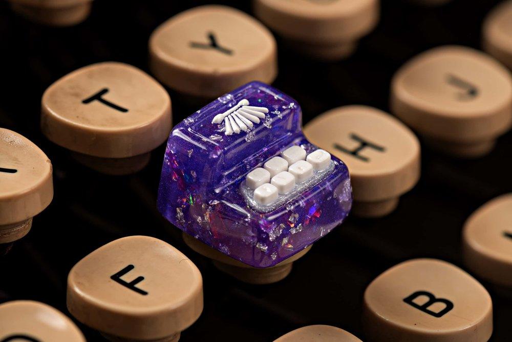 Jelly Key - Artisan keycap typewriter cherry mx 017.jpg
