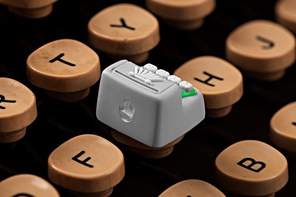 Jelly Key - Artisan keycap typewriter cherry mx 008.jpg