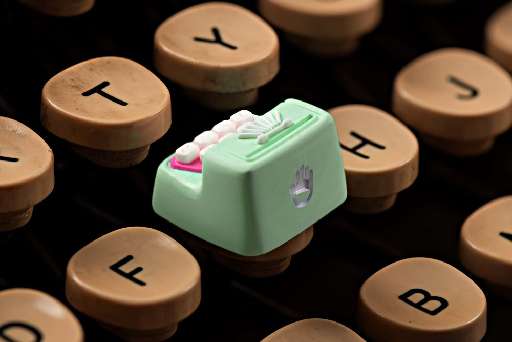 Jelly Key - Artisan keycap typewriter cherry mx 006.jpg
