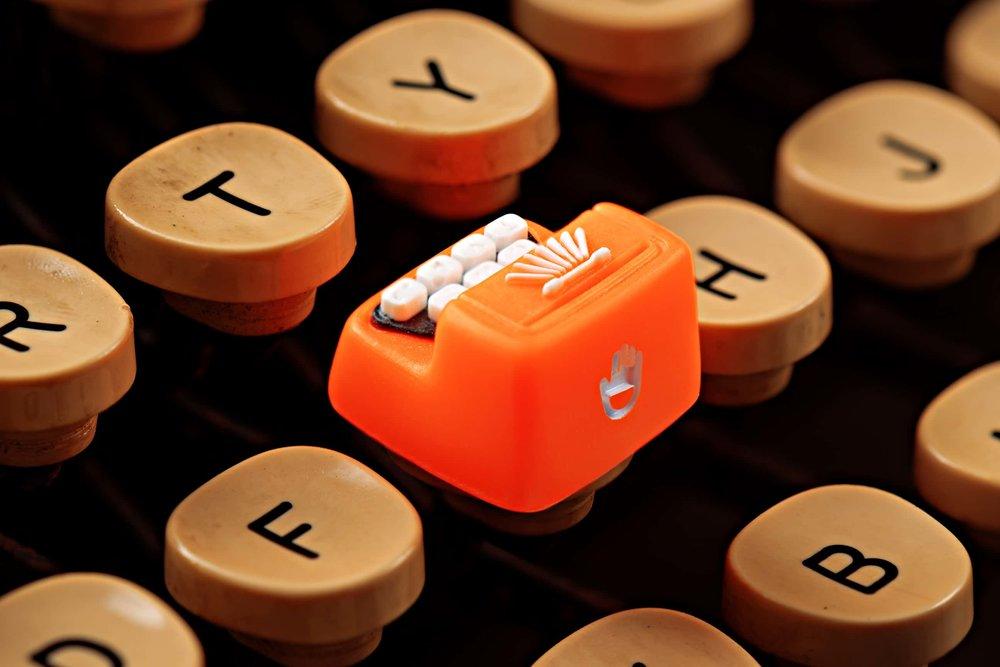 Jelly Key - Artisan keycap typewriter cherry mx 004.jpg