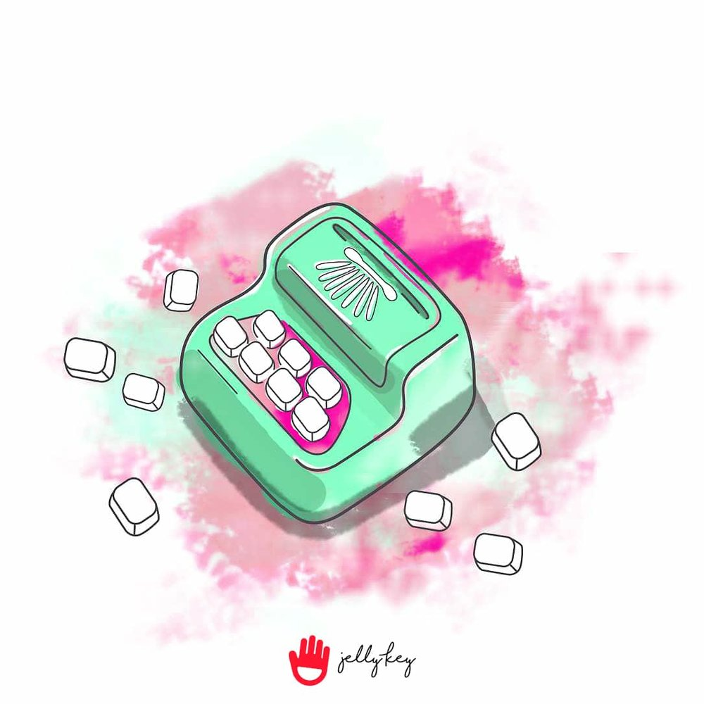 jellykey-typewriter-artisan-keycap-sketch-digital-painting-1.jpg