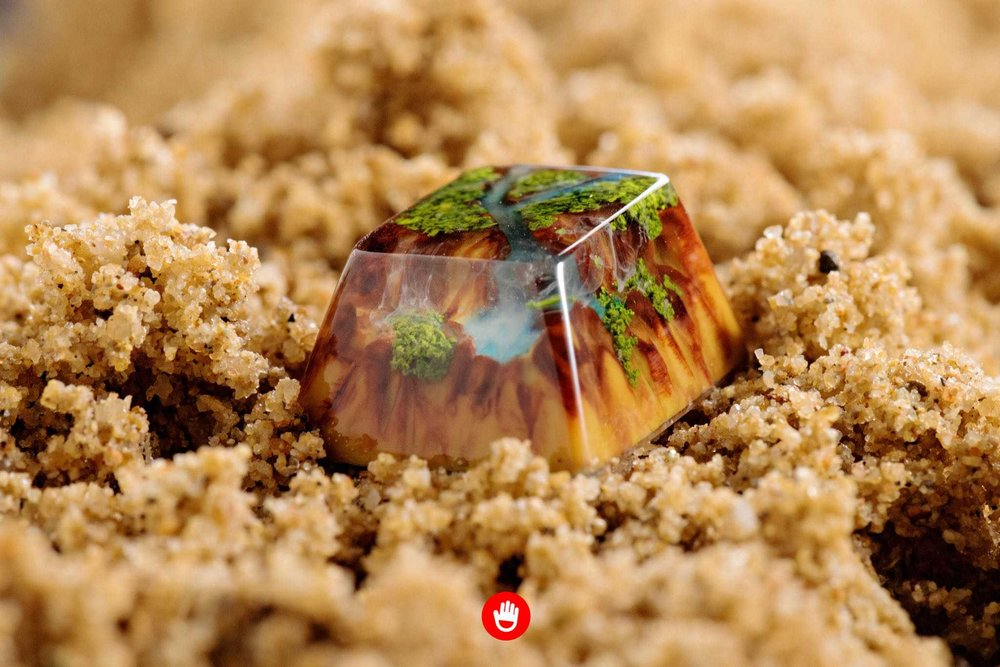 Jelly Key artisan keycap - Natural collection 030.jpg