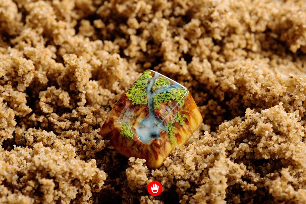 Jelly Key artisan keycap - Natural collection 028.jpg