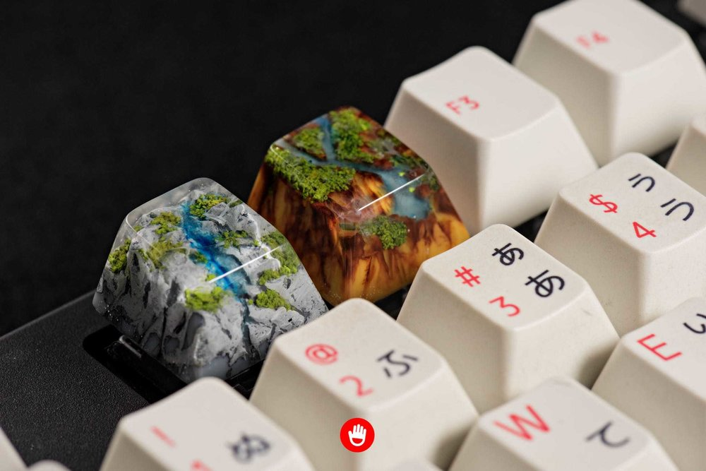 Jelly Key artisan keycap - Natural collection 039.jpg
