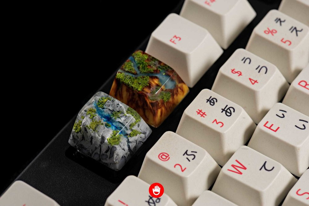 Jelly Key artisan keycap - Natural collection 037.jpg