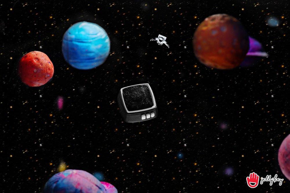 Jelly Key - RetroTV series – Fly to the moon artisan keycap 003.jpg
