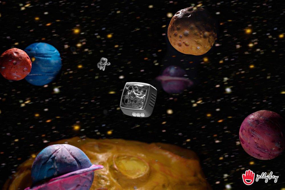 Jelly Key - RetroTV series – Fly to the moon artisan keycap 001.jpg