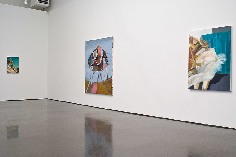 Two person show with Holger Kalberg , 2010, at Monte Clark Gallery, Vancouver