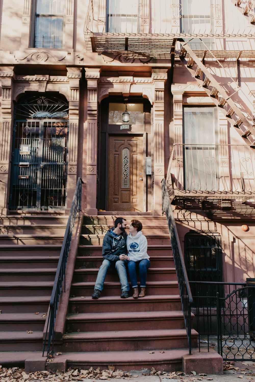 Emily & Tim's stoop :)