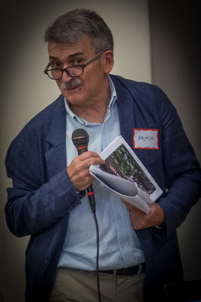 Armin Isasti, a Mondragon representative, speaking at the 2015 Union Co-op Symposium.