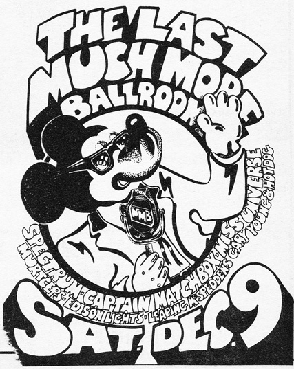 the t f much ballroom much more ballroom 1970 1972 third stone 3 Member Boy Band 2014 above advert for the last much more ballroom concert 9 december 1972