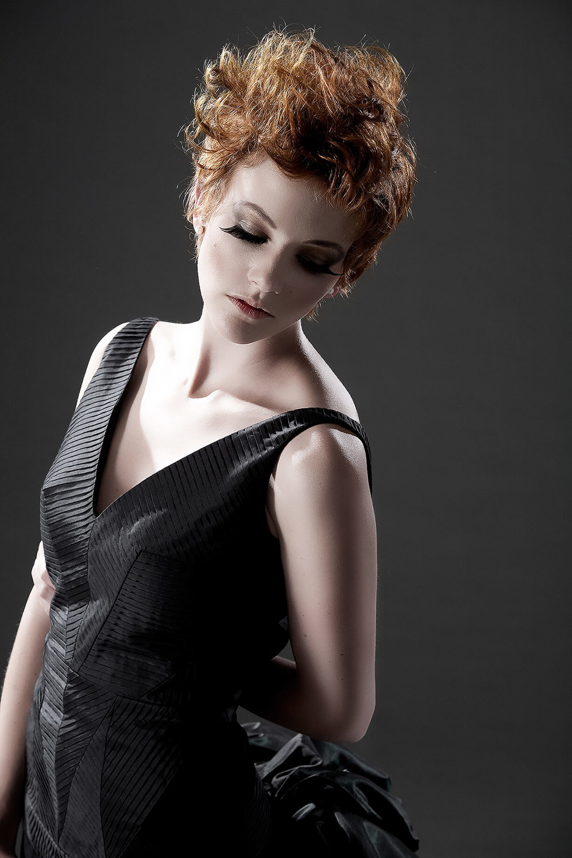 Female model portfolio photography by Melbourne Photographer Chalk Studio