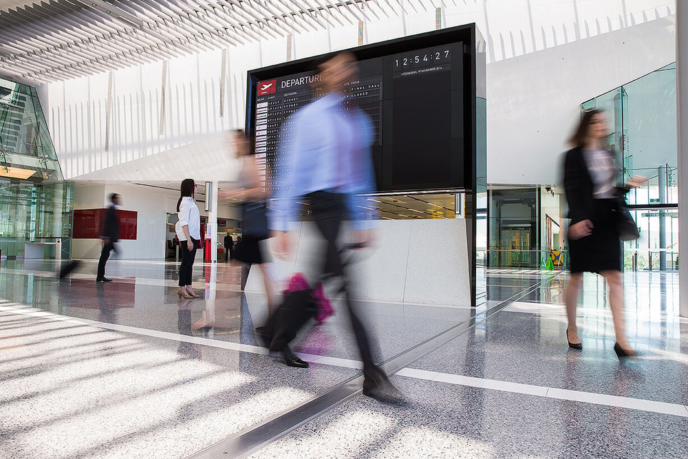 Travel industry and airport advertising photography by Melbourne Photographer Chalk Studio