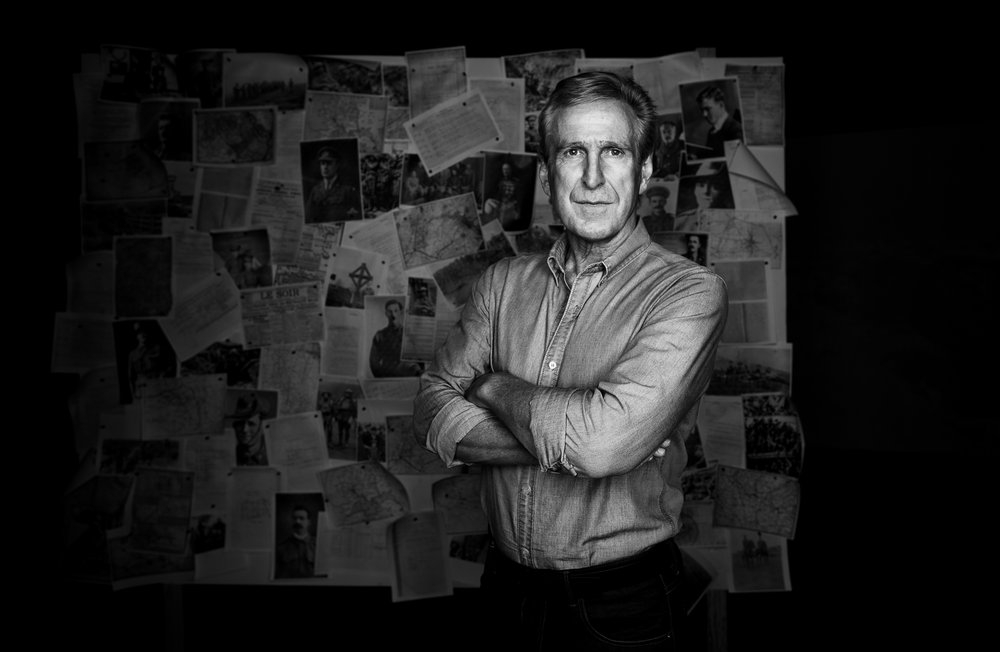 BBC TV series production stills and character portrait photography by Melbourne Photographer Chalk Studio