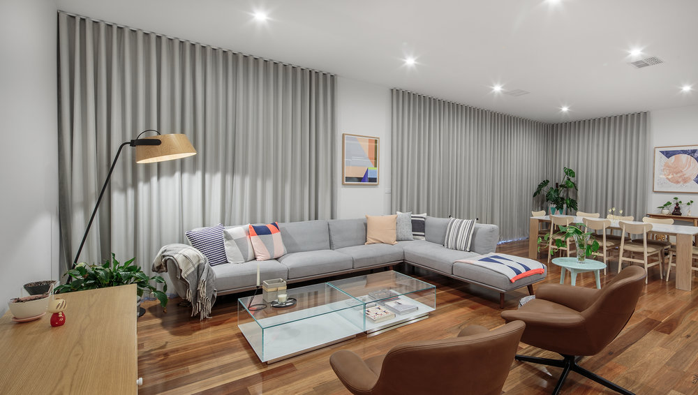 Home interior photography for Chadwick Designs. Melbourne architecture photographer