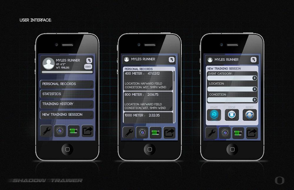 User Interface designed by Garrett Tollette