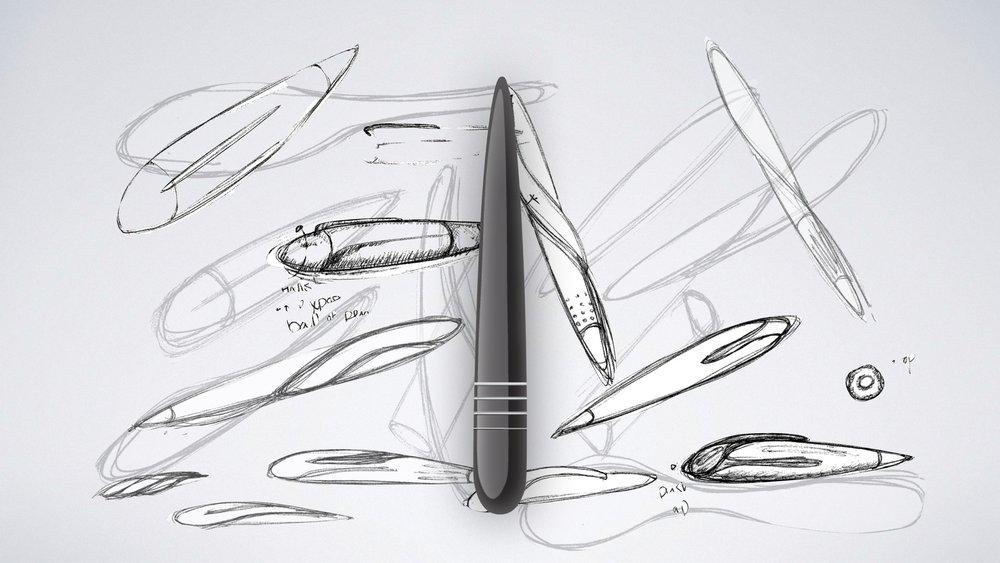 Sketches + Photoshop render.