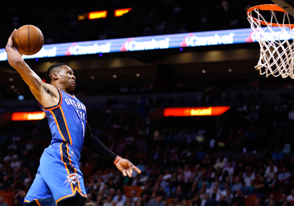 Russell Westbrook  His tenacity, his high motor, his drive, his raw passion inspire me daily.