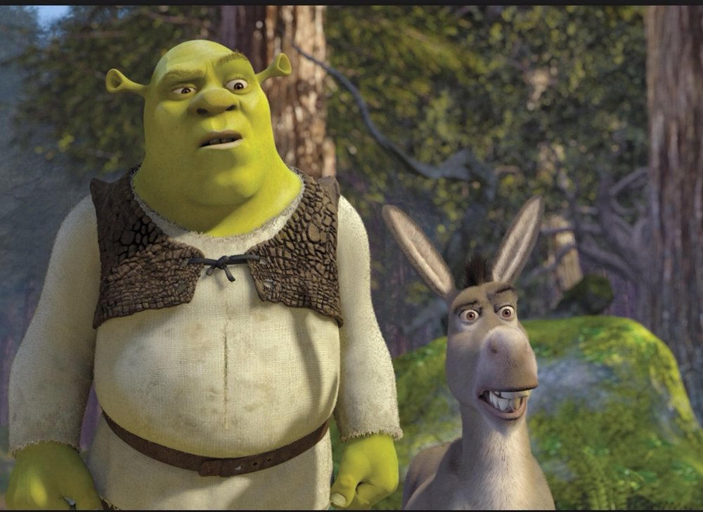 Shrek  My favorite movie ever.